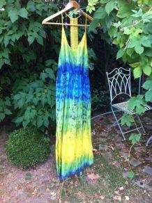 Robe Maxi effet tie&dye