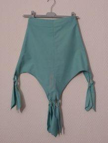 Jupe Originale Turquoise - Biche De Bere
