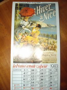 Calendrier de la Vie Ouvrière 1983
