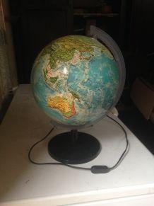 lampe globe lumineux
