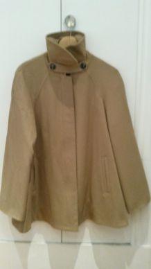 Manteau court coupe semi-ample  1-2-3
