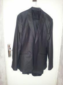 costume homme noir celio pas cher