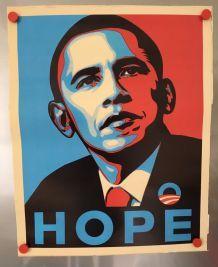 Affiche HOPE OBAMA