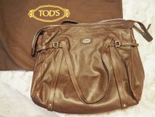 Sac Cuir Marron Tod's EXCELLENT Etat