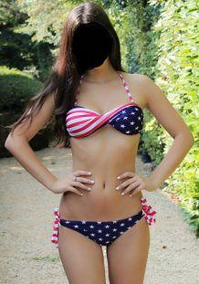 Maillot de bain bikini USA Taille L