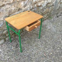 Table d'école enfant vintage