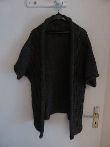 Gilet loose en laine T36/38