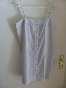 Robe courte blanc cassé T42
