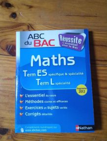 Livre Maths Term ES