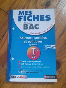 Fiches Sciences sociales et politiques