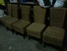table + 5 chaises