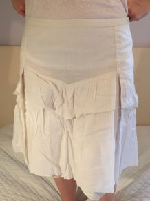Jupe courte coton Comptoir des Cotonniers