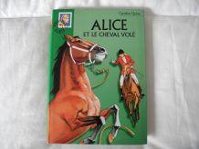 """Bibliothèque Verte """"Alice et le cheval volé"""""""