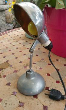 lampe de bureau pliante des années 50