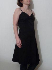 Robe / Tunique Noire à bretelles