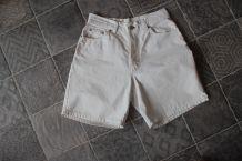 Short blanc Esprit en coton