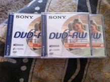 Lot de 5 Sony DMW 30 - DVD-RW (8cm) - 1.4 Go - boîtier CD