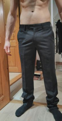 Pantalon costume Rochas