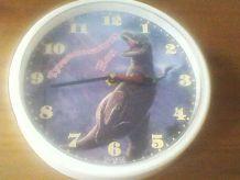 Horloge dinosaure à accrocher