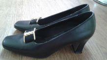 Chaussures noires à brides - comme neuves