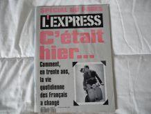 """L'EXPRESS """"C'éatait hier', .... Avril 1992"""