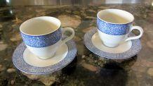 Tasses à thé Geneviève Lethu