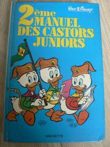 Walt Disney, manuels des Castors Juniors