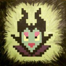pixel art MALEFIQUE