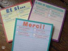 Post it organisation quotidien avec fun