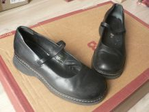 Chaussures cuir noir San Marina T 37