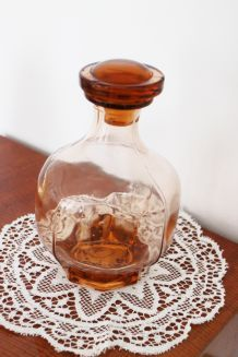 Vase vintage vieux rose des années 50