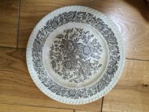 assiette porcelaine