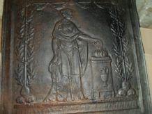 2 plaque de fonte
