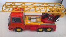 Camion de pompier métal 70'S