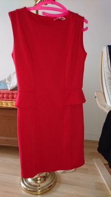 Robe rouge 3 suisse collection