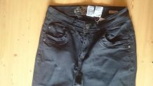 Pantalon jeans noir