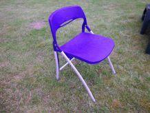 Lot de 4 chaises pliante
