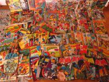 VEND LOT DE 138 BD COMICS TOUS ORIGINAUX
