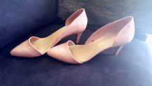 Escarpins rose pâle