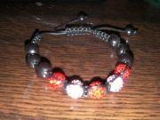 bracelet shamballa rouge