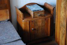 Chevet vintage - Style années 50 - Couleur bois