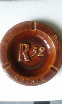 Grand cendrier publicitaire R52