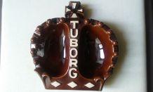 Cendrier publicitaire Tuborg couronne