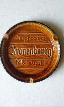 Grand cendrier kronenbourg