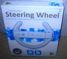 Volant console Nintendo WII.
