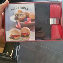 Kit mini Burger american retro