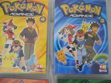 2 DVD Pokémon Advance 3 et 4