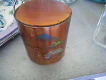 Ancienne boîte à thé japonaise