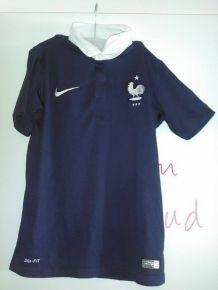Maillot équipe de France 11-12 ans