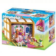 château playmobil transportable